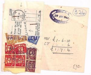 GB POSTAGE DUES *Margate* Kent Unusual HIGH RATE Licences Receipt 1964 AU75