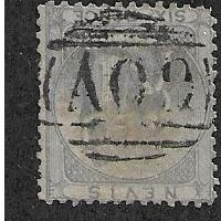 Nevis #7 Used 1861 issue