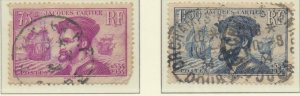 France Stamps Scott #296 To 297, Used - Free U.S. Shipping, Free Worldwide Sh...