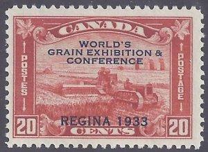 Canada Scott #203 Mint LH VF