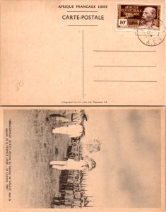 French Equatorial Africa, Picture Postcards