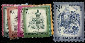HERRICKSTAMP AUSTRIA Sc.# 958-76 Mint NH Scott Retail $40.00