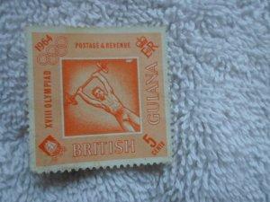 british guiana stamp no hinge marks # 2