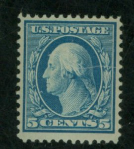U.S. #335 MINT F-VF OG NH Cat $110