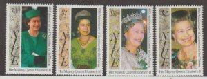 Niue Scott #647-650 Stamps - Mint NH Set