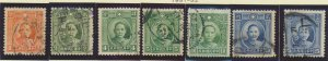China Stamp Scott #290//303, Used, 8 Different From 1931-7 - Free U.S. Shippi...