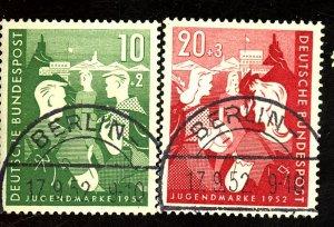 GERMANY #B325-6 USED VF Cat $46