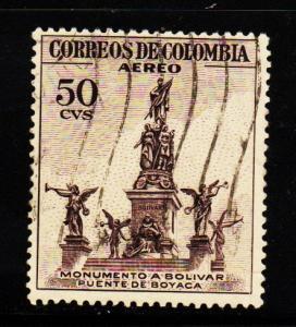 Columbia - #C246 Bolivar  Monument   - Used