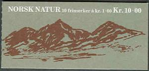 NORWAY #729 (H48 ) Complete Booklet, VF, Facit $10.00