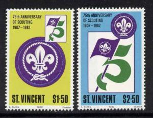 St Vincent 650-1 MNH Scouting Year
