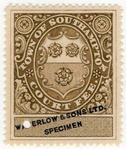 (I.B) Southampton Revenue : Town Court Fees (Waterlow Proof)