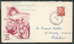 AUSTRALIA 1951 GVI 3d commem FDC........................................41051