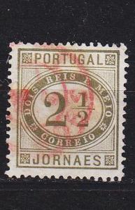 PORTUGAL [1887] MiNr 0065 zd ( O/used )