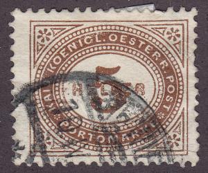 Austria J26 Used 1900 Postage Due