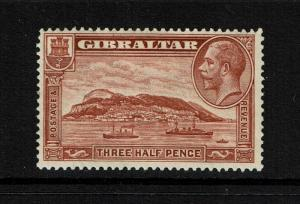 Gibraltar SG# 111a, Mint Hinged, small Hinge Rem, perf 13.5 x 14 - Lot 052117