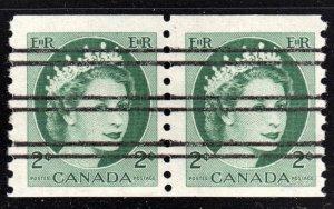 Canada Scott 345xx  F to VF mint OG NH pair.