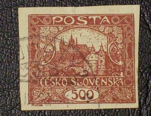 Czechoslovakia Scott #39 used