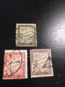 France sc J30,J34,J38a u
