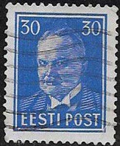 Estonia, sc 131, used
