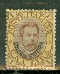 AL: Eritrea 10 mint CV $65