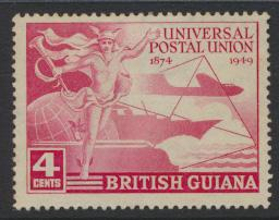 British Guiana SG 324 Used  (Sc# 246 see details)  UPU Issue