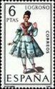 Spain 1969 Regional Costumes - Logroño