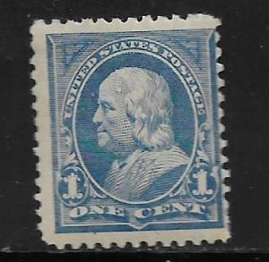 UNITED STATES, 247, MINT HINGED, FRANKLIN
