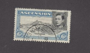 ASCENSION # 45 VF-KGV1 6d RE-ENTRY CAT VALUE $35