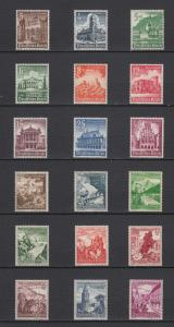 WWII Third Reich 2 Full Sets Winter Relief Funds 1938/40 MLH Luxe.