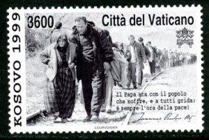 Vatican City MNH mint 1117 Kosovo war relief refugee      (Inv 001761.)