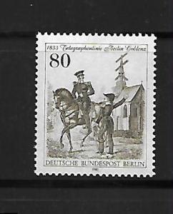 BERLIN, 9N484, MNH, BERLIN-KOBLENZ