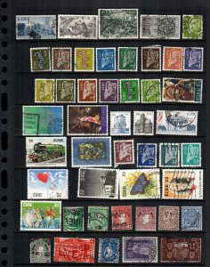 Ireland  43  diff used and mint lot collection