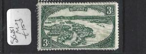 BRUNEI  (P1005BB)  3C  SG 81   MOG