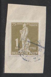 Germany Scott 9N40 BERLIN 1DM 75 Year Weltpost Verein HIGH CAT.