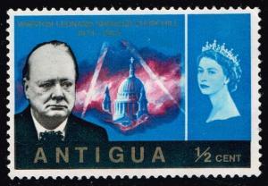 Antigua #157 Churchill Memorial; Unused No Gum (0.25)