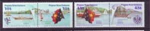 J21907 Jlstamps 1984 png set mnh pairs #608-9 ships