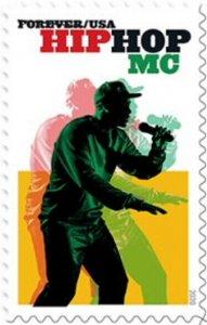 US 5480 Hip Hop MC forever single (1 stamp) MNH 2020 after 7/15