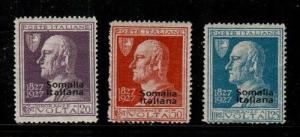 Somalia Scott 97-9 Mint hinged (Catalog Value $36.00)