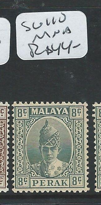 MALAYA PERAK (P0810B)  SULTAN HEAD STRAIGHT 8C  SG 110     MNH  COPY 2