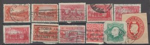 COLLECTION LOT # 1505 AUSTRALIA 11 STAMPS 1914+ CLEARANCE CV+$10