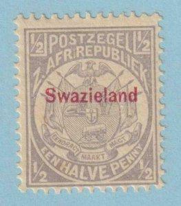SWAZILAND 1  MINT NEVER HINGED OG ** NO FAULTS EXTRA FINE!