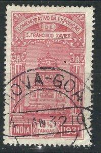 Portuguese India 419 Used CTO F/VF 1931 SCV $5.50