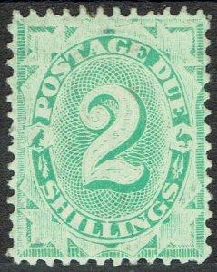 AUSTRALIA 1902 POSTAGE DUE 2/- WMK CROWN/NSW PERF11.5,12