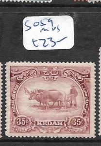 MALAYA  KEDAH   (PP0706B)  COW  35C  SG 59  MOG