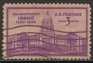 United States 1940 Scott# 896 Used