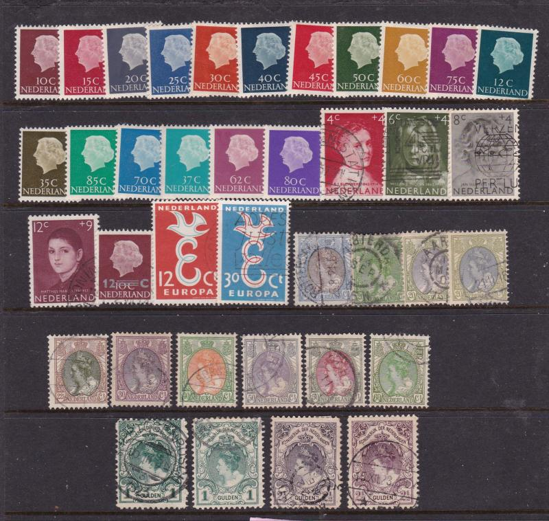 Netherlands a mint & used selection early to 1960's
