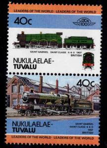 Nukulaelae-TUVALU Scott 10 MNH** Train pair