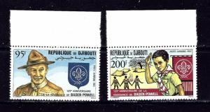 Djibouti C163-64 MNH 1982 Boy Scouts
