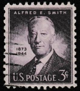 SC# 937 - (3c) - Alfred E Smith - Used Single