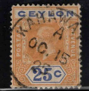 CEYLON Scott 207 Used wmk 3